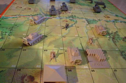 Tank Battle Game