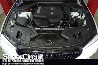 B48B20 engine on the BMW G30 530i