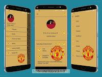 BBM Manchester United Versi Terbaru 3.1.0.13 | BBM Mod Transparant Terbaru