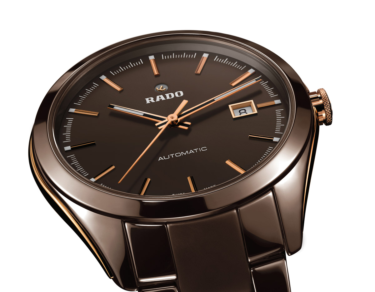 Rado Hyperchrome Brown Ceramic Time And Watches The