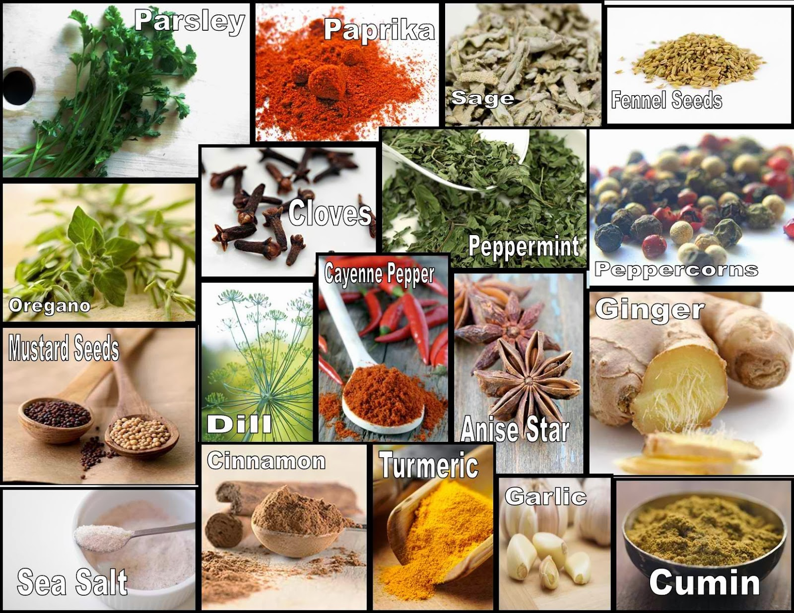 Naturlich Gesund Herbs And Spices