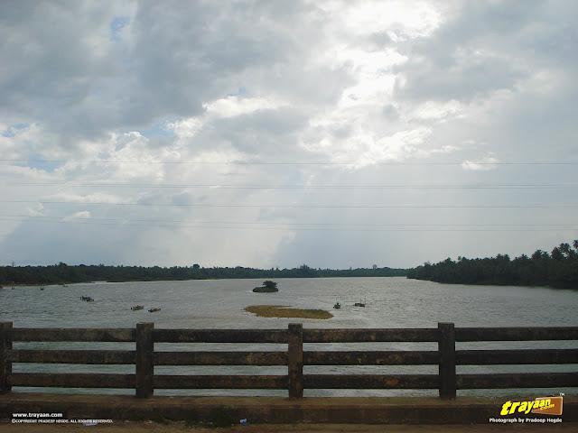 A view of River Sita, in Barkuru