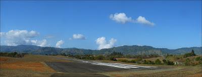 San Isidro de El General airport runway