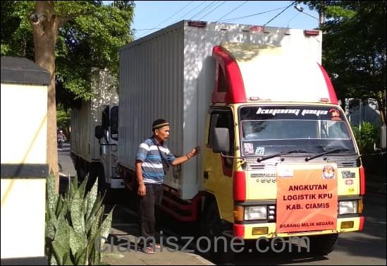 KPU Targetkan Distribusi Logistik Tuntas Hari ini