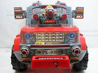 1 Mobil Mainan Aki Pliko PK9300N Fasst Baby Car 2 Dinamo Motor 12 Volt
