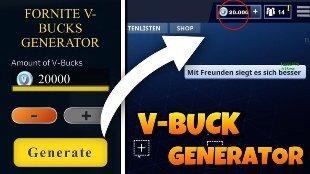 Fortnite free account generator unlimited v-bucks No Human Verification 100% work