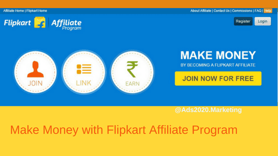 How to Make Money from Flipkart Affiliate Program-560x315