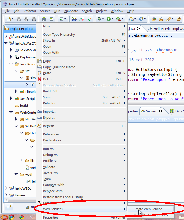 Download Wsimport example