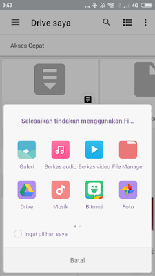 Cara Upload File Ke Google Drive Di Android