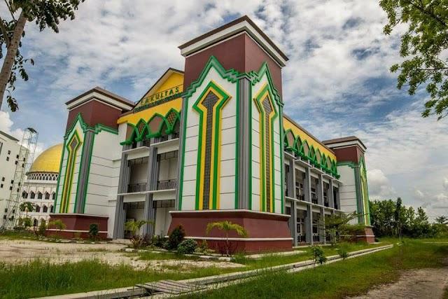 Gedung Perkuliahan IAIN Palangka Raya megah dan lengkap