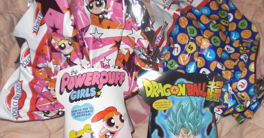 Uova di Pasqua Dolci Preziosi 2017 - The Powerpuff girls e Dragon ball super!