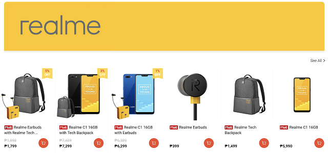 Realme Buds, Tech Bags Philippines