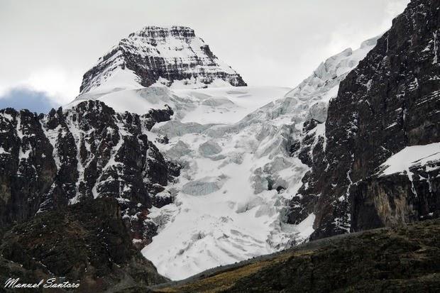 Un ghiacciaio nei pressi della Laguna