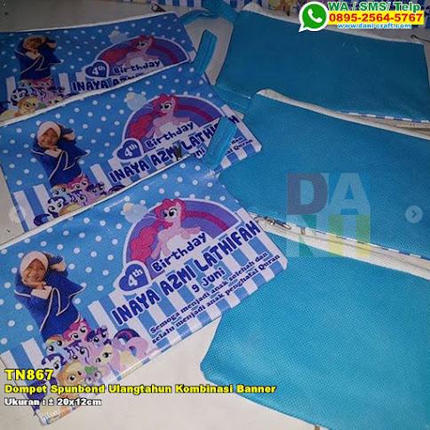 Dompet Spunbond Ulangtahun Kombinasi Banner