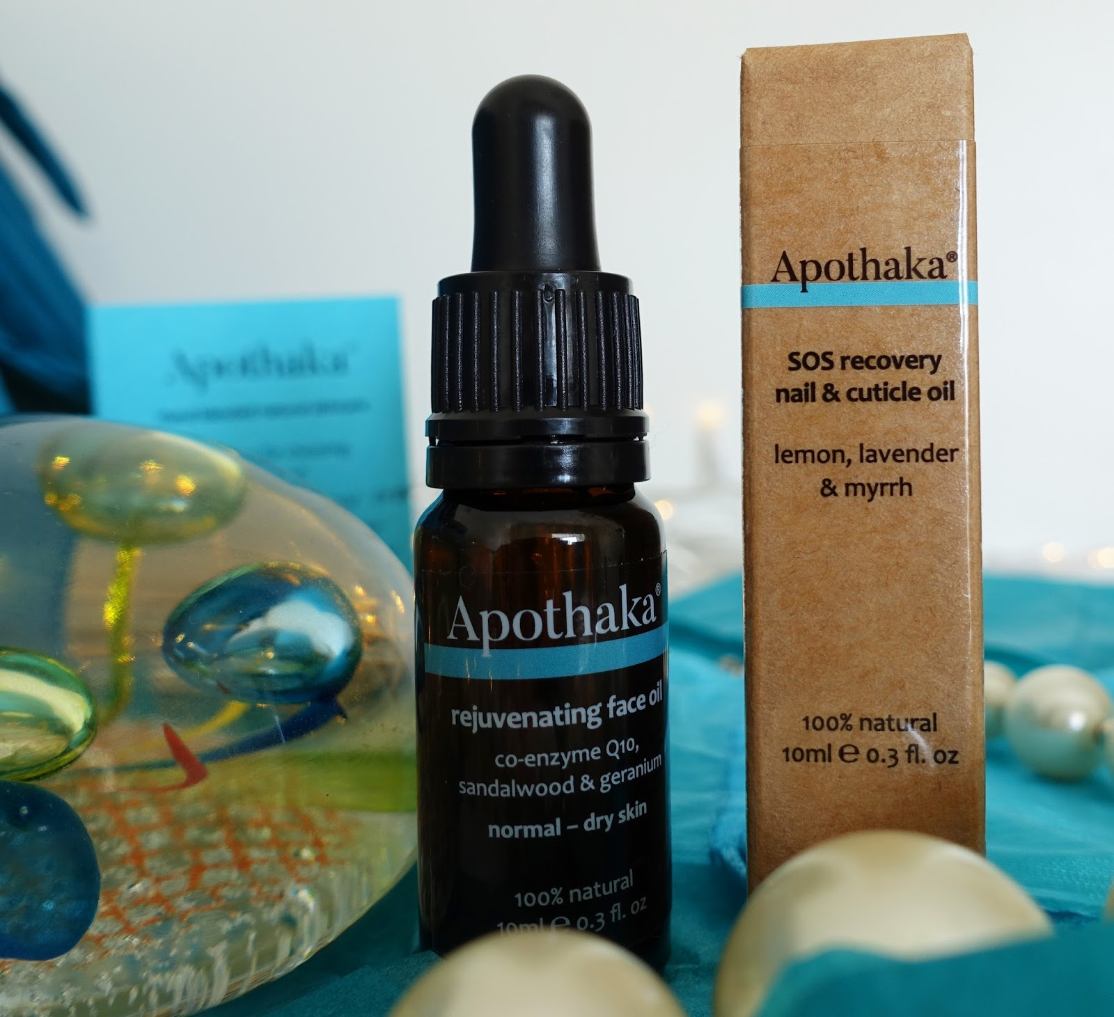 These products are hand made by Apothaka founder Natasha Dauncey and 100 per cent natural but highly effective