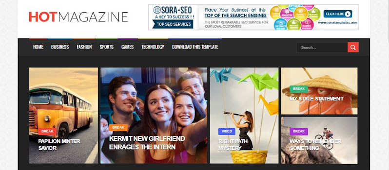 20+ Best Responsive SEO Ready Free Blogger Templates - Codiblog