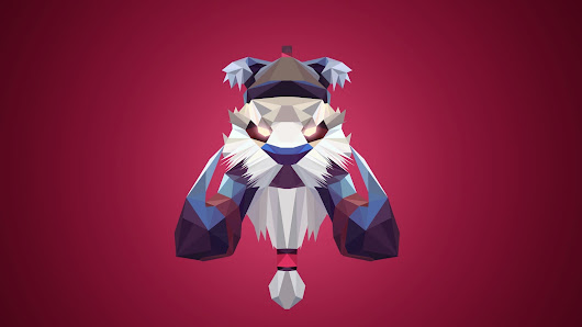Tusk Dota 2 Low Poly Art