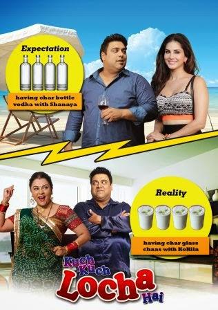 Kuch Kuch Locha Hai 2015 Hindi 480p WEB HDRip 400MB Bollywood movie compressed small size free download at https://world4ufree.ws