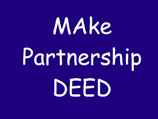 Partnership deed for startup