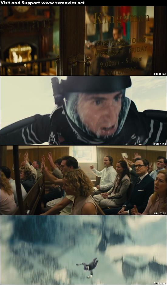 Kingsman The Secret Service 2014 UNCUT Dual Audio Hindi 720p BluRay