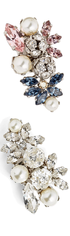 Jimmy Choo Sandy Cluster Clip (each sold separately)