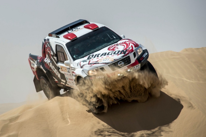 Επίδειξη δύναμης από τη Nissan, στο Dubai International Baja