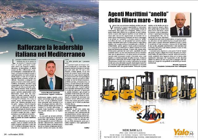 SETTEMBRE2018 PAG. 24 - Rafforzare la leadership italiana nel Mediterraneo