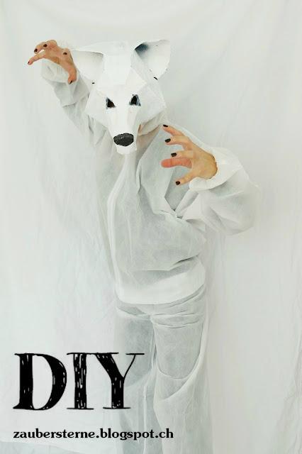 Maske, Faschingsmaske, DIY Maske, Maske kleistern, Blog Schweiz