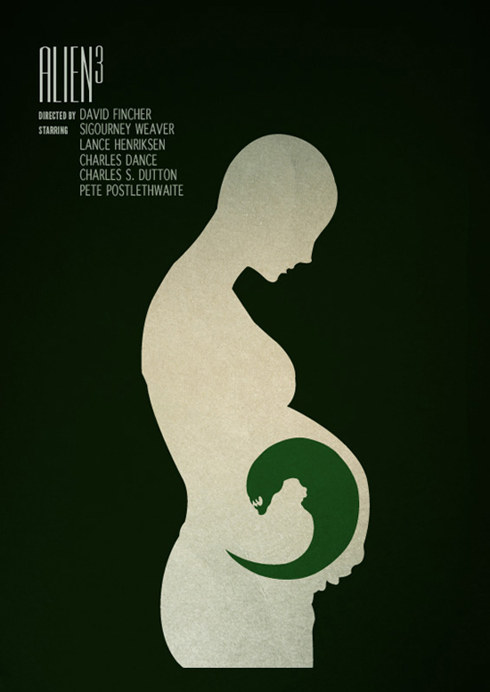 Super Posters de cinema minimalistas de Sam Markiewicz | O QUE VEM À REDE GT18