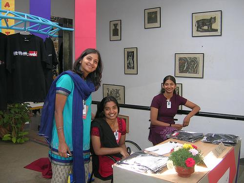 Madurai College Girls Photos From Tamil Nadu  College Girls-2152