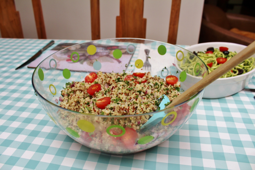 Summer lunch tabbouleh