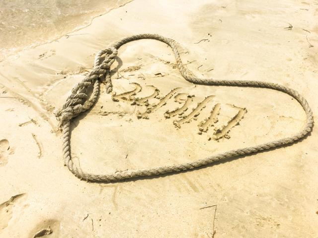 Mauritius sand