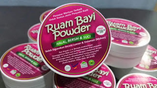 Ruam bayi powder, ruam baby powder