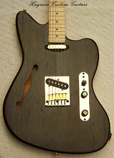 image result for a custom Jaguar guitar with Lollar pickups from the Haywire Custom Guitars Custom Shop