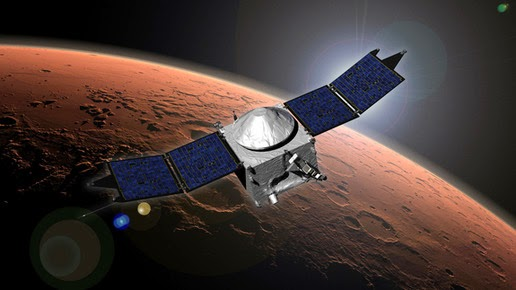 Planet Mars kedatangan tamu gres dari Bumi Wahana Antariksa MAVEN Tiba Di Mars