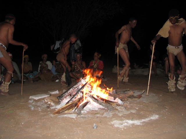 79   Bosquimanos Campamento D'Kar San Bushmen People, The World Most Ancient Race People In Africa