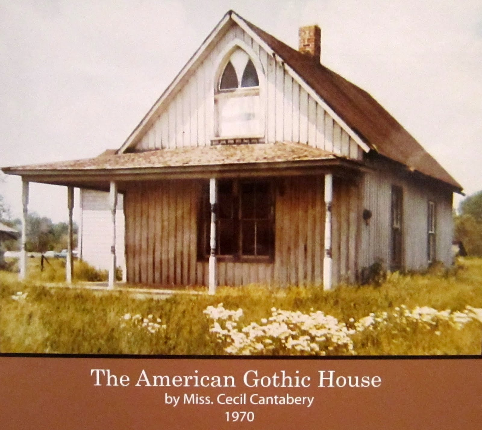 Hasty pics american gothic house center eldon iowa for The american house
