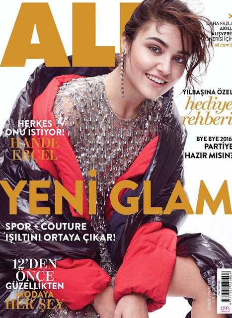 Hande Ercel Magazine Awesome Cover Photos