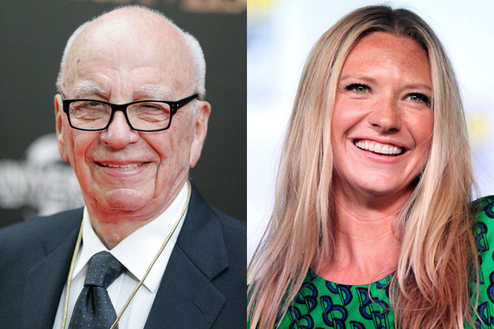 Rupert Murdoch and Anna Maria Torv   | Famous Celebrity Bible