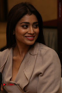 Actress Shriya Saran Stills in Stylish Dress at Gautamiputra Satakarni Team Press Meet  0041.JPG