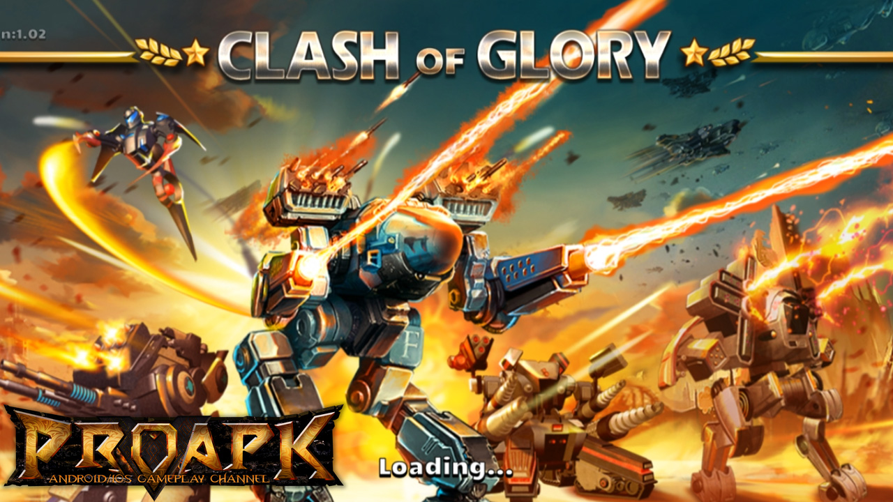 Clash of Glory – MECH War Game