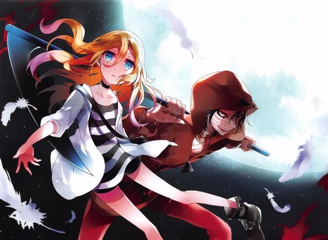 Manga de Terror Psicológico, Satsuriku no Tenshi, terá um anime