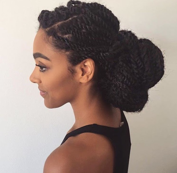 detangling natural hair- frequency