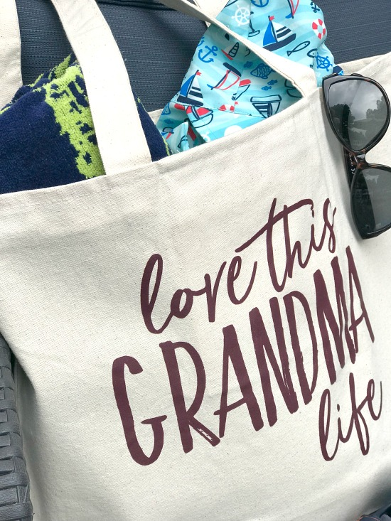 A tote bag for Grandma, a great gift
