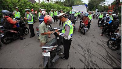 Mulai Besok (16 Nopember) 'Operasi Zebra' Besar-besaran se-Indonesia, tapi ini 7 Cara Agar Lolos Tilang