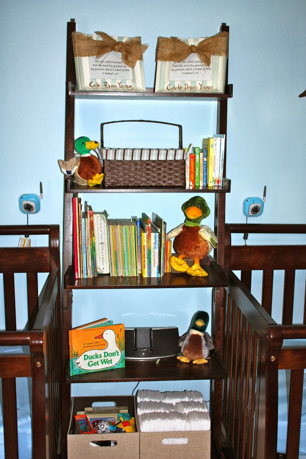 The Little Young Family The Boys Nursery