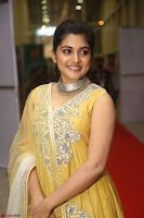Nivetha Thamos in bright yellow dress at Ninnu Kori pre release function ~  Exclusive (39).JPG
