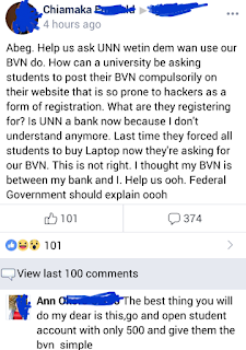 UNN Enugu student cries out