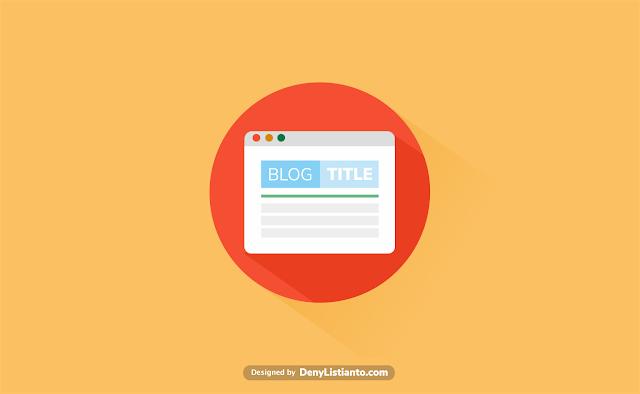 Cara Membuat Judul Blog Dan Artikel Muncul Satu Kata