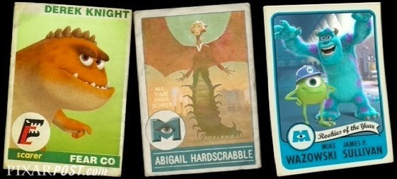 Monsters University Scare Cards - The Complete Guide   Pixar Post